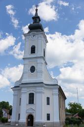 A szobi templom fényképe